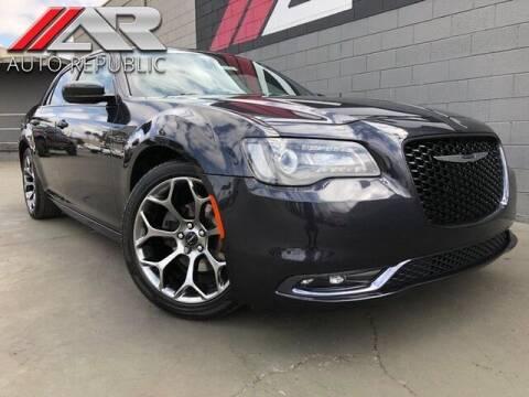 2015 Chrysler 300 for sale at Auto Republic Fullerton in Fullerton CA