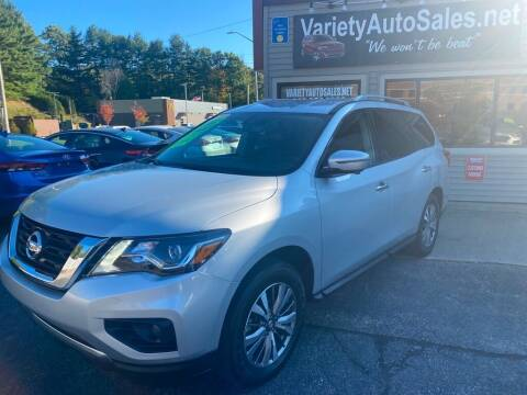 2020 Nissan Pathfinder for sale at Variety Auto Sales in Worcester MA