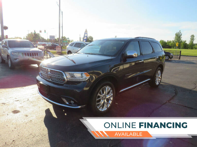 2014 Dodge Durango for sale at A to Z Auto Financing in Waterford MI