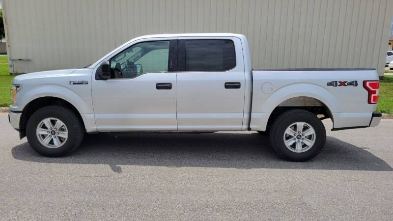 2018 Ford F-150 for sale at TNK Autos in Inman KS