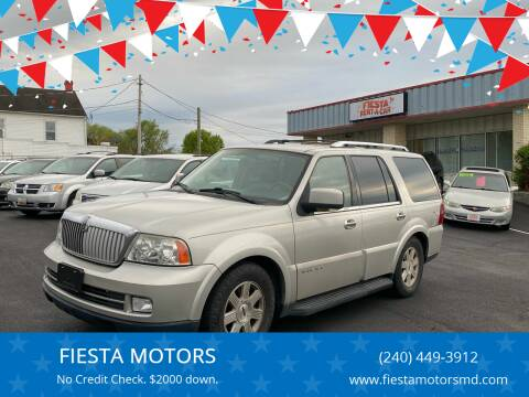 2006 Lincoln Navigator for sale at FIESTA MOTORS in Hagerstown MD