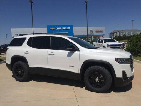 2020 GMC Acadia for sale at Vance Fleet Services in Guthrie OK