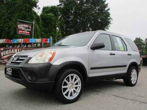 2005 Honda CR-V for sale at Vigeants Auto Sales Inc in Lowell MA