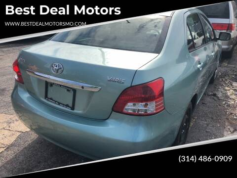 2009 Toyota Yaris for sale at Best Deal Motors in Saint Charles MO