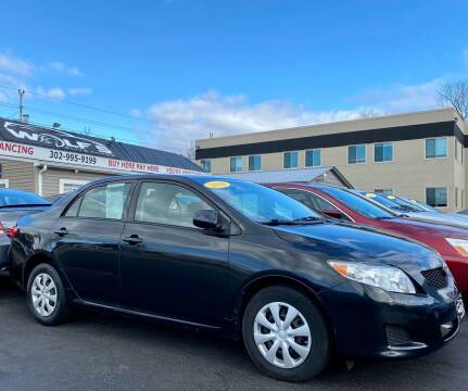 2010 Toyota Corolla for sale at WOLF'S ELITE AUTOS in Wilmington DE