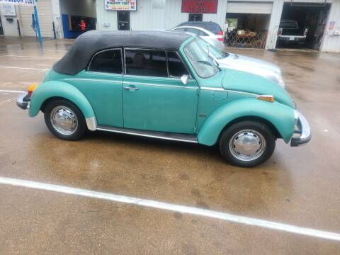 1979 Volkswagen Beetle Convertible for sale at Bad Credit Call Fadi in Dallas TX