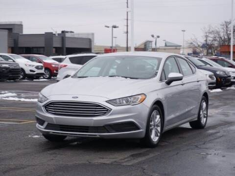 2018 Ford Fusion for sale at Work With Me Dave in Southfield MI