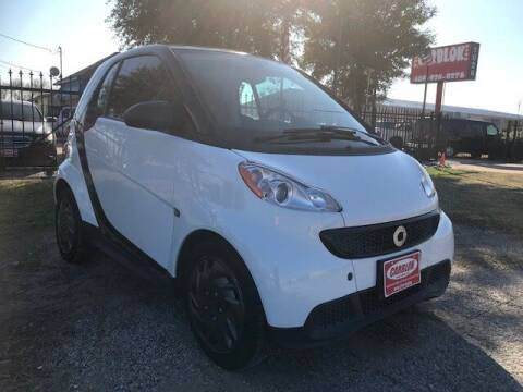 2014 Smart fortwo for sale at CARBLOK in Lewisville TX
