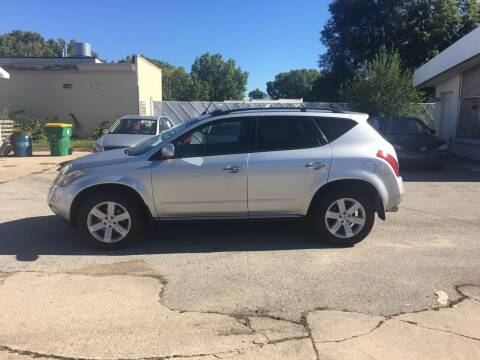 2006 Nissan Murano for sale at Velp Avenue Motors LLC in Green Bay WI