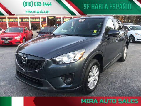 2013 Mazda CX-5 for sale at Mira Auto Sales in Raleigh NC