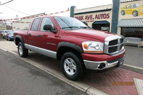 2006 Dodge Ram Pickup 1500 for sale at PARK AVENUE AUTOS in Collingswood NJ