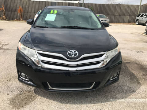 2013 Toyota Venza for sale at SOUTHWAY MOTORS in Houston TX