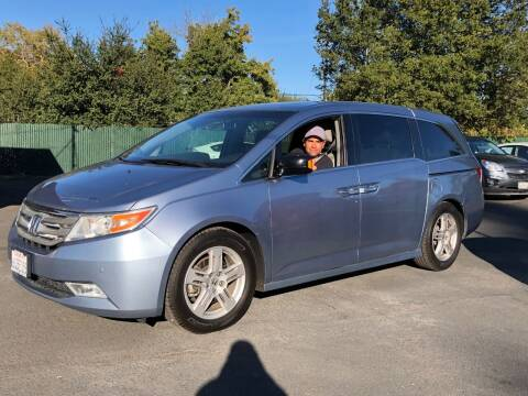 2012 Honda Odyssey for sale at Redwood City Auto Sales in Redwood City CA