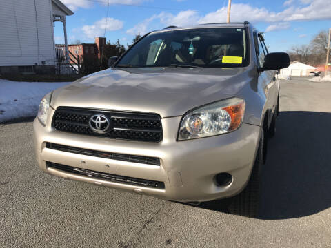 2008 Toyota RAV4 for sale at D'Ambroise Auto Sales in Lowell MA