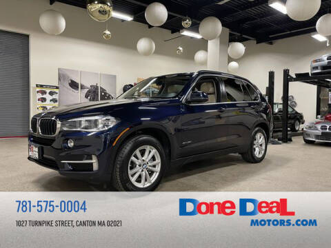 2014 BMW X5 for sale at DONE DEAL MOTORS in Canton MA