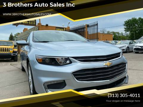 2018 Chevrolet Malibu for sale at 3 Brothers Auto Sales Inc in Detroit MI