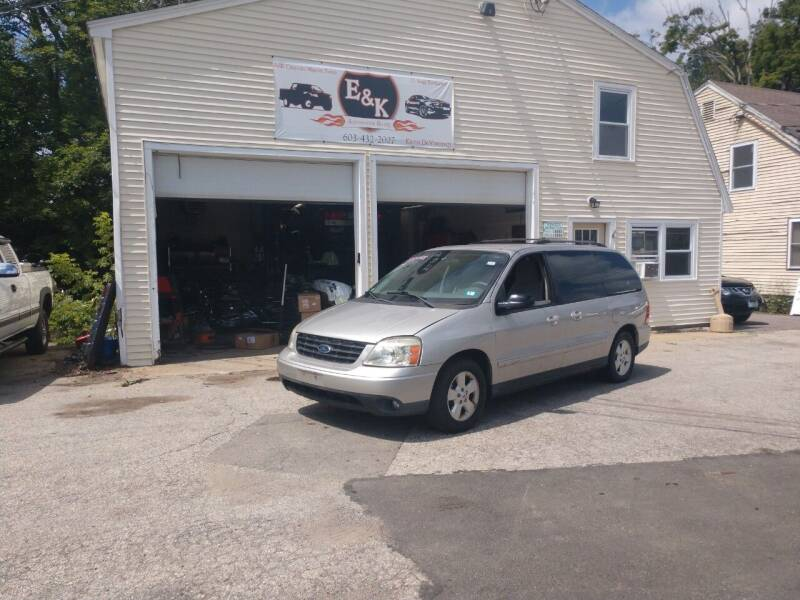 2005 Ford Freestar for sale at E & K Automotive in Derry NH