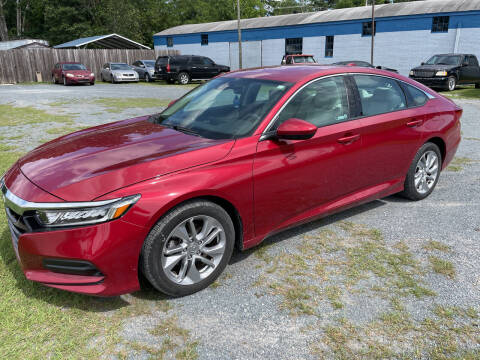 2018 Honda Accord for sale at LAURINBURG AUTO SALES in Laurinburg NC