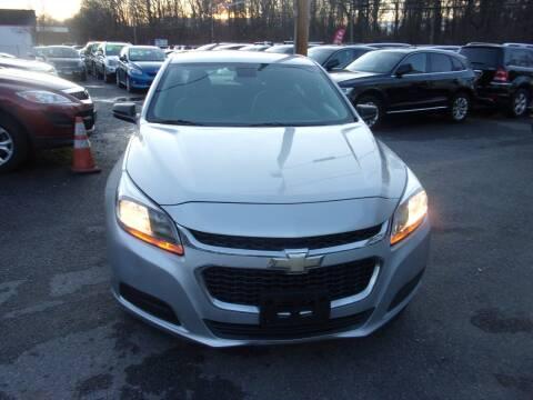 2014 Chevrolet Malibu for sale at Balic Autos Inc in Lanham MD