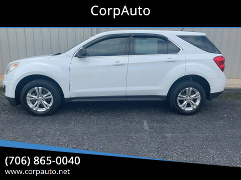 2012 Chevrolet Equinox for sale at CorpAuto in Cleveland GA