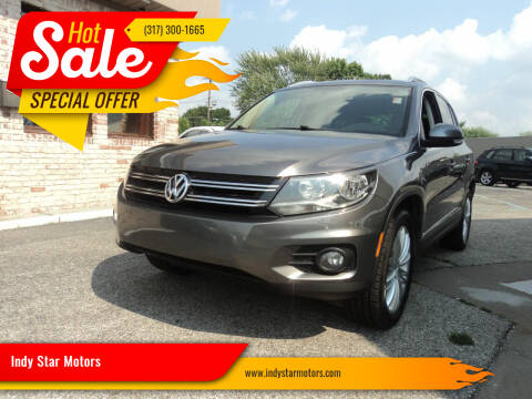 2013 Volkswagen Tiguan for sale at Indy Star Motors in Indianapolis IN