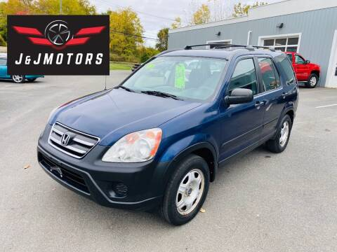 2005 Honda CR-V for sale at J & J MOTORS in New Milford CT