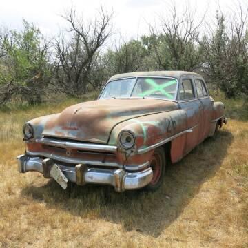 1952 Chrysler Highlander 4 DR. sedan for sale at MOPAR Farm - MT to Un-Restored in Stevensville MT