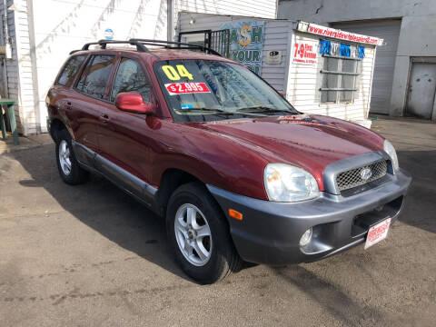 2004 Hyundai Santa Fe for sale at Riverside Wholesalers 2 in Paterson NJ