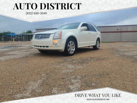 2007 Cadillac SRX for sale at Auto District in Baytown TX
