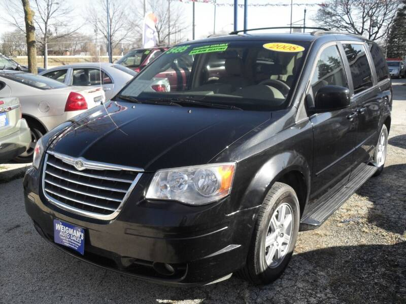 2008 Chrysler Town and Country for sale at Weigman's Auto Sales in Milwaukee WI