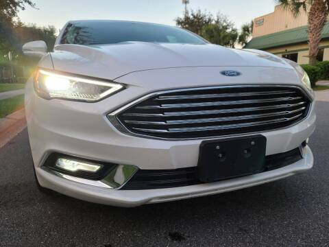2017 Ford Fusion for sale at Monaco Motor Group in Orlando FL