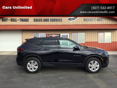 2020 Chevrolet Blazer for sale at Cars Unlimited in Marshall MN