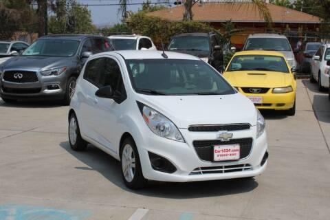 2013 Chevrolet Spark for sale at Car 1234 inc in El Cajon CA