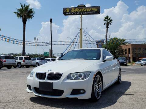 2013 BMW 3 Series for sale at A MOTORS SALES AND FINANCE in San Antonio TX
