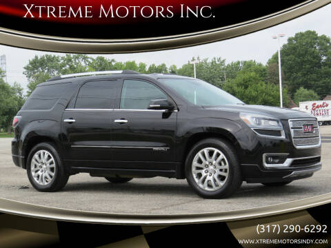 2016 GMC Acadia for sale at Xtreme Motors Inc. in Indianapolis IN