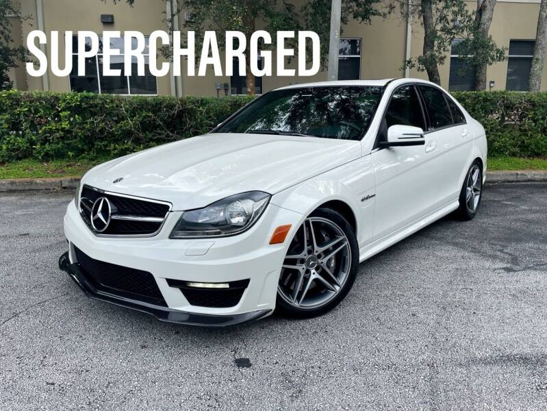 2012 Mercedes-Benz C-Class for sale at CARPORT SALES AND  LEASING in Oviedo FL