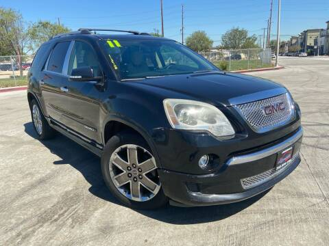 2011 GMC Acadia for sale at Affordable Auto Solutions in Wilmington CA