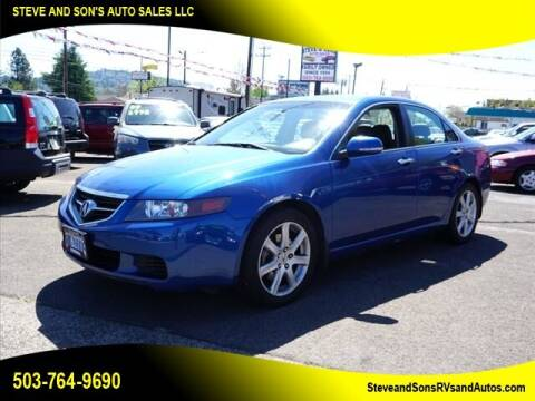 2004 Acura TSX for sale at Steve & Sons Auto Sales in Happy Valley OR
