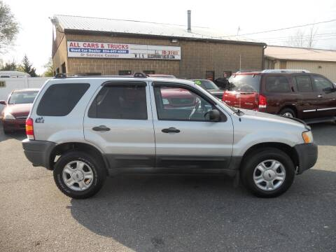 2004 Ford Escape for sale at All Cars and Trucks in Buena NJ