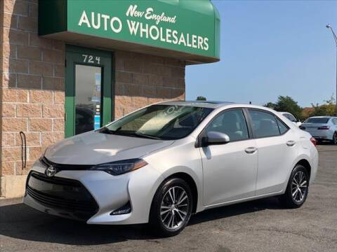 2017 Toyota Corolla for sale at New England Wholesalers in Springfield MA