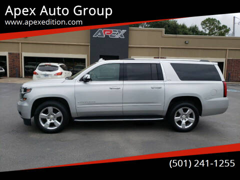 2015 Chevrolet Suburban for sale at Apex Auto Group in Cabot AR
