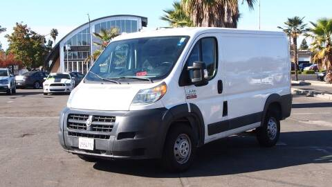 2016 RAM ProMaster Cargo for sale at Okaidi Auto Sales in Sacramento CA