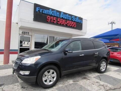 2011 Chevrolet Traverse for sale at Franklin Auto Sales in El Paso TX