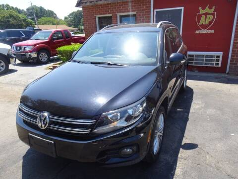 2013 Volkswagen Tiguan for sale at AP Automotive in Cary NC