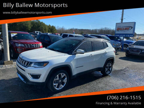 2017 Jeep Compass for sale at Billy Ballew Motorsports in Dawsonville GA
