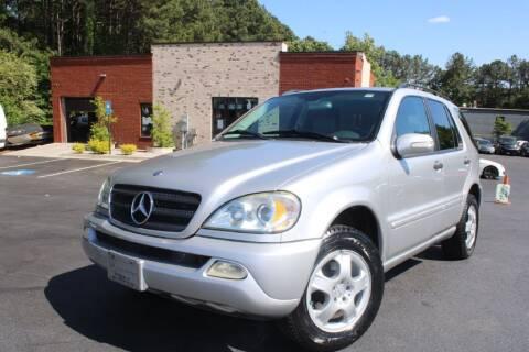 2002 Mercedes-Benz M-Class for sale at Atlanta Unique Auto Sales in Norcross GA