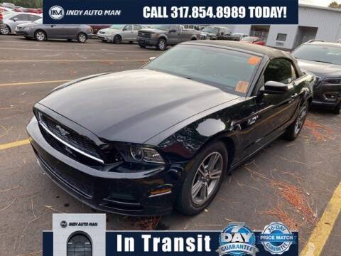 2013 Ford Mustang for sale at INDY AUTO MAN in Indianapolis IN