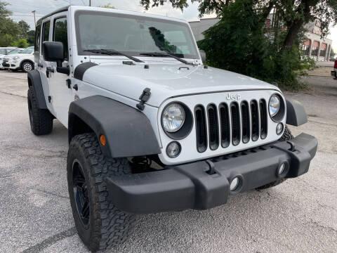 2015 Jeep Wrangler Unlimited for sale at PRESTIGE AUTOPLEX LLC in Austin TX