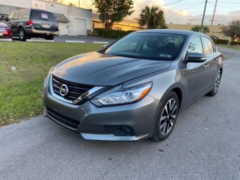 2018 Nissan Altima for sale at Roadmaster Auto Sales in Pompano Beach FL