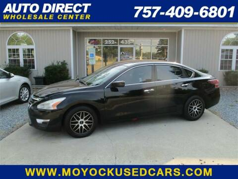 2013 Nissan Altima for sale at Auto Direct Wholesale Center in Moyock NC